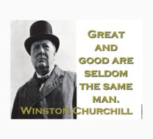 Great And Good - Churchill Kids Tee
