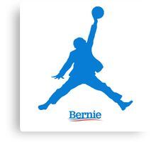 Bernie Jumpman Canvas Print