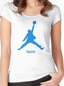 Bernie Jumpman Women's Fitted Scoop T-Shirt