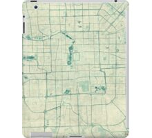 Beijing Map Blue Vintage iPad Case/Skin