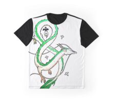 Haku Dragon Graphic T-Shirt