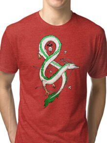 Haku Dragon Tri-blend T-Shirt