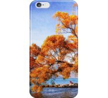canvassed tree iPhone Case/Skin
