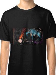 Burning Eyes Flaming Fist Classic T-Shirt