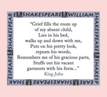 Grief Fills The Room Up - Shakespeare Kids Tee
