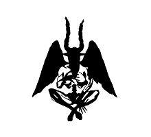 Incubus Stencil Photographic Print