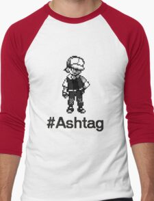#Ashtag Pokemon Retro Men's Baseball ¾ T-Shirt