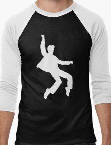 White Elvis Men's Baseball ¾ T-Shirt