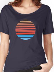Circular Sunset Women's Relaxed Fit T-Shirt