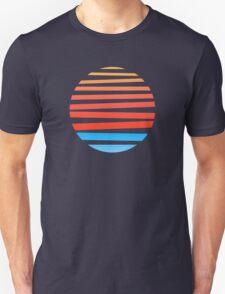 Circular Sunset Unisex T-Shirt