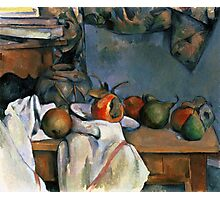 Paul Cezanne - Ginger Pot with Pomegranate and Pears 1893 Impressionism  Still Life Photographic Print