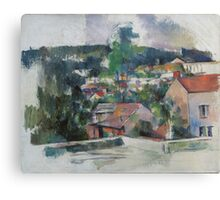 Paul Cezanne - Landscape 1888 - 1890 Canvas Print