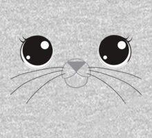 Selkie with whiskers Kids Tee