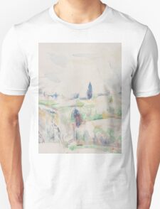 Paul Cezanne - Landscape in Provence between 1895 and 1900 Unisex T-Shirt