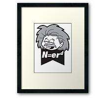 N=erd Framed Print
