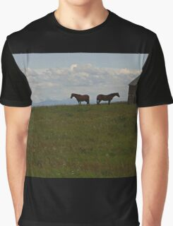 Alberta Panorama - God's Country Graphic T-Shirt