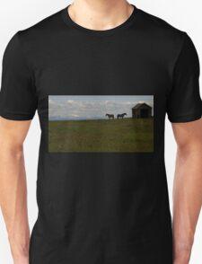 Alberta Panorama - God's Country Unisex T-Shirt