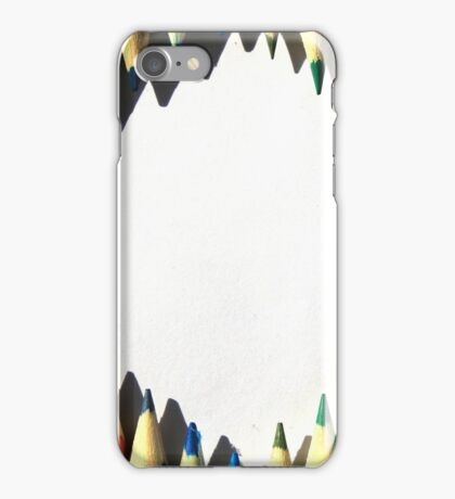 Colored Pencil Diamond Shape iPhone Case/Skin