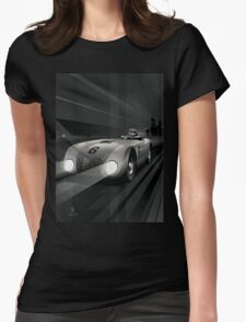 Cars Womens Fitted T-Shirt