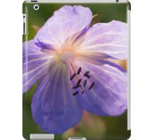 Meadow Crane's-bill iPad Case/Skin