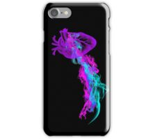 Heart and Abstract Colorful Smoke iPhone Case/Skin
