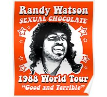 Randy Watson 1988 World Tour Poster