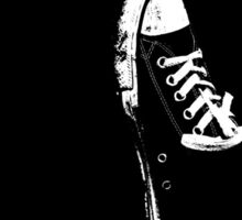 Black Converse Sticker