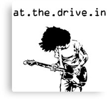 At. The. Drive. In. Canvas Print