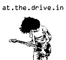 At. The. Drive. In. Photographic Print