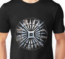 u2 logo ietour design 3 Unisex T-Shirt