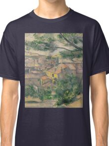 Paul Cezanne - Morning View of L Estaque Against the Sunlight 1882 - 1883 Classic T-Shirt