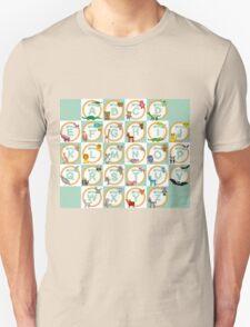 Animals alphabet T-Shirt