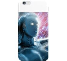 Robot girl 3, Girl in the machine iPhone Case/Skin