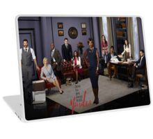 How to get away with murder-cast Laptop Skin