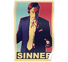Breaking Bad: Saul Goodman, SINNER Poster