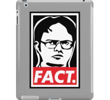 """The Office: Dwight """"FACT' Obey iPad Case/Skin"""