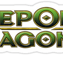 Deep Ones and Dagon Sticker