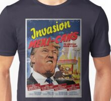 Donald Trump vs the Mexi-cans 1950's Movie poster Unisex T-Shirt