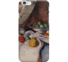 Paul Cezanne - Still Life with Apples 1895 - 1898 iPhone Case/Skin