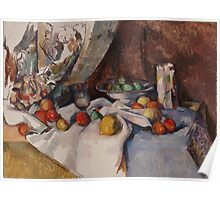 Paul Cezanne - Still Life with Apples 1895 - 1898 Poster