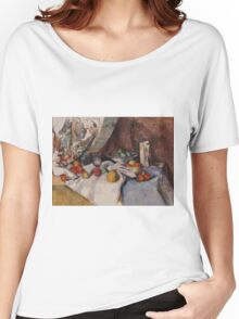 Paul Cezanne - Still Life with Apples 1895 - 1898 Women's Relaxed Fit T-Shirt