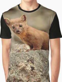 Weasel Graphic T-Shirt