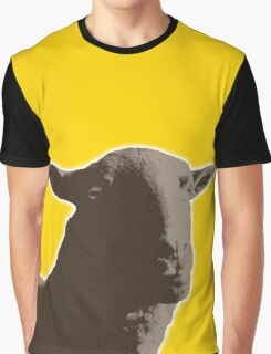 Black sheep on a variety of colorful backgrounds Graphic T-Shirt