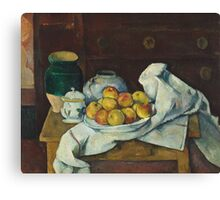 Paul Cezanne - Still Life with Commode  1887 - 1888 Canvas Print
