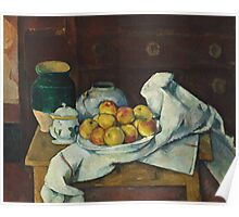 Paul Cezanne - Still Life with Commode  1887 - 1888 Poster