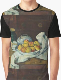 Paul Cezanne - Still Life with Commode  1887 - 1888 Graphic T-Shirt