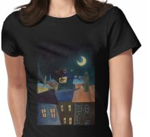 Monalisa  Womens Fitted T-Shirt