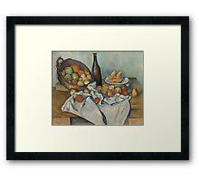 Paul Cezanne - The Basket of Apples  1893 Framed Print