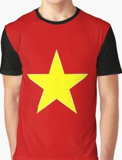 Yellow Star Graphic T-Shirt