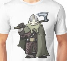 Attack The Tower Viking (Gaming Concept Art) Unisex T-Shirt